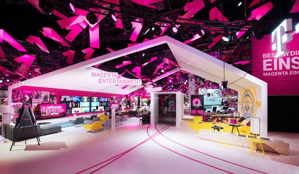 Telekom Messestand