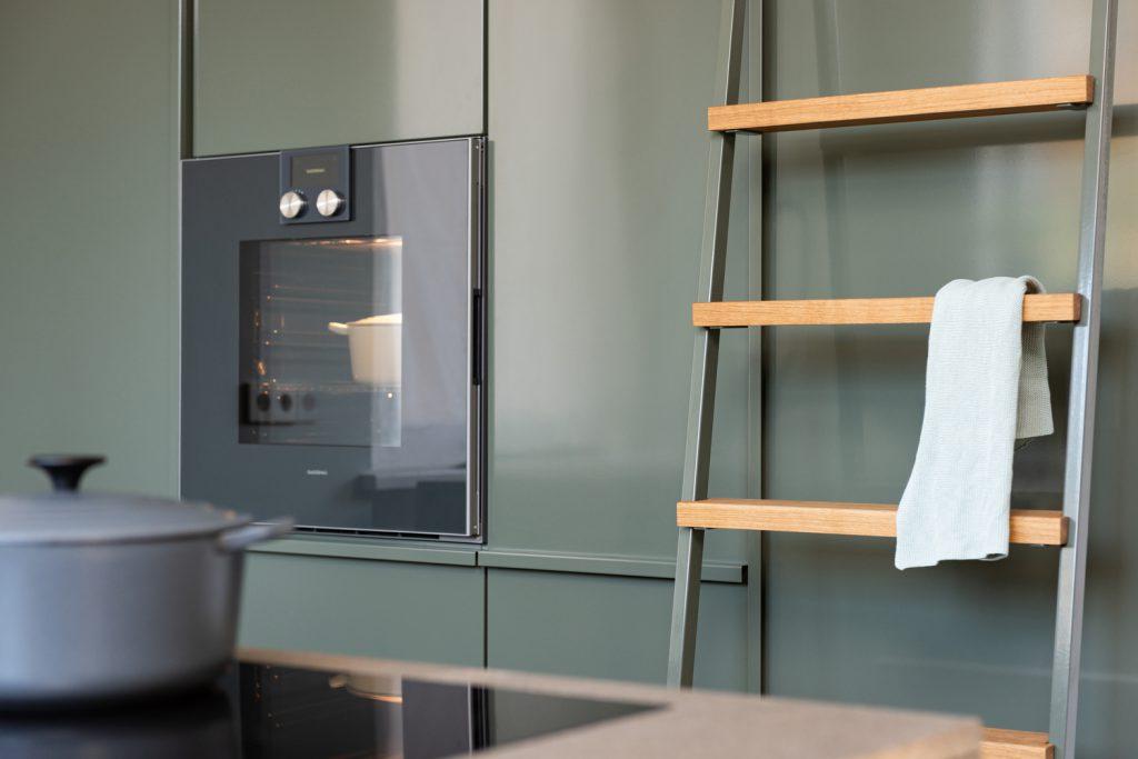 Detail Popstahl Küche