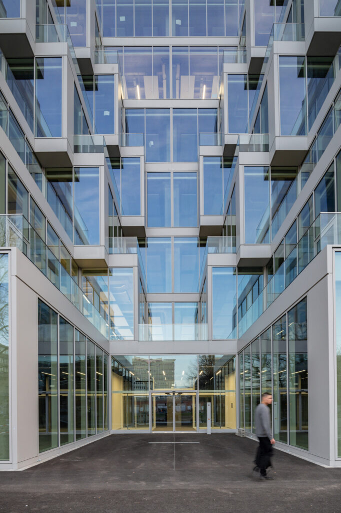 Baudokumentation, Architekturfotografie Berlin Up!, SIGNA, Linus Lintner Architekturfotografie, Umbau, Zalando,